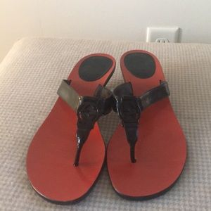 Authentic Gucci Kitten Heel Sandal